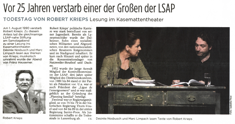 25AnnivRK_Tageblatt
